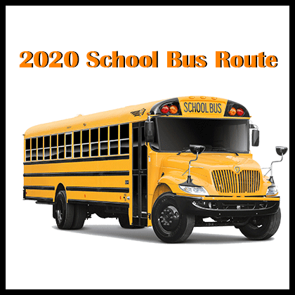 2020 School Bus Route
